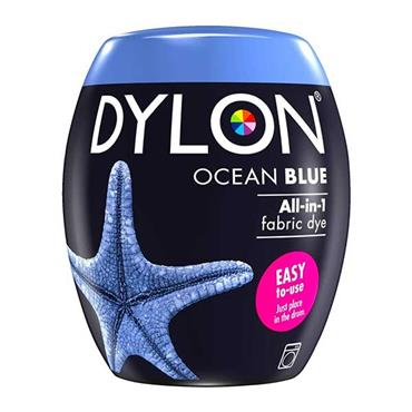 Dylon All In 1 Fabric Dye Pod Ocean Blue 350g