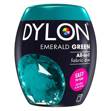 Dylon All In 1 Fabric Dye Pod Emerald Green 350g