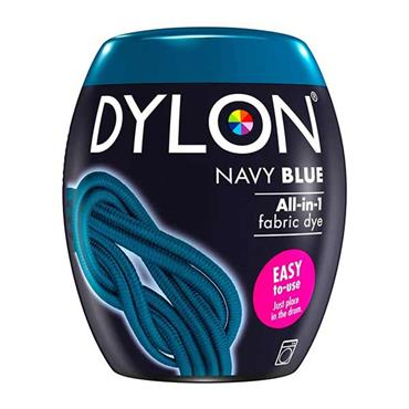 Dylon All In 1 Fabric Dye Pod Navy Blue 350g
