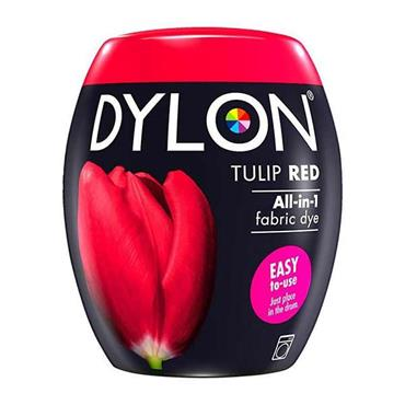 Dylon All In 1 Fabric Dye Pod Tulip Red 350g