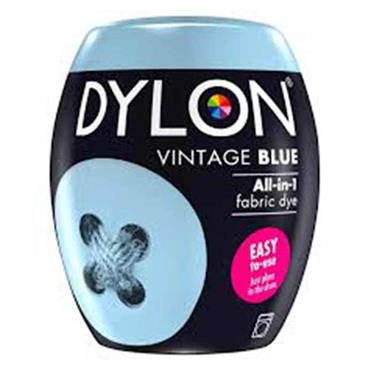 Dylon All In 1 Fabric Dye Pod Vintage Blue 350g