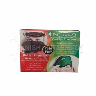 The Eye Doctor Hot Eye Compress & Cold Eye Compress Duo Pack