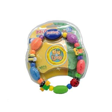 Nuby Hard And Soft Teether Bug A Loop 3m+