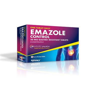 Emazole Control Esomeprazole Tablets