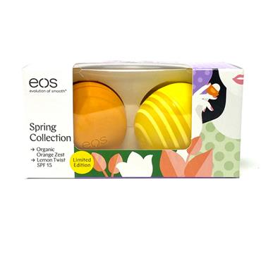 EOS Orange Zest & Lemon Twist SPF15 Lip Balm 2 Pack