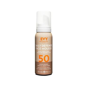 Evy Technology - Daily UV SPF50 Face Mousse 75ml