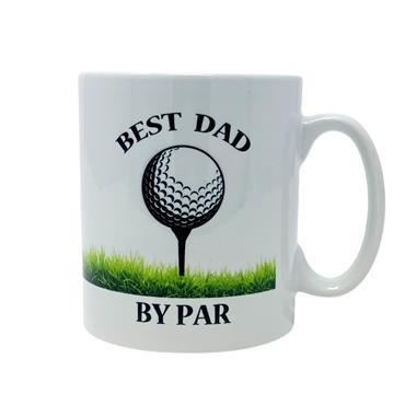 Best Dad By Par Mug