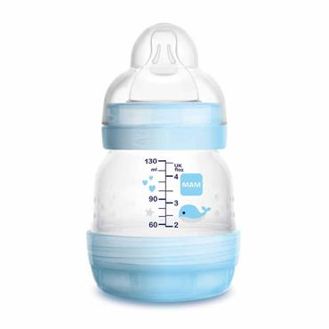MAM Easy Start Anti-Colic Bottle 0 Months+ 130ml Blue