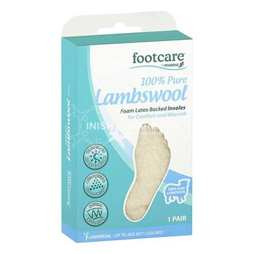 Footcare Lambswool Insoles 1 Pair