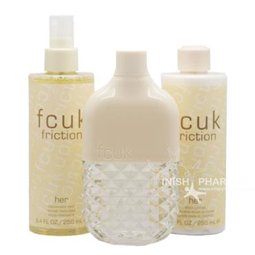 Fcuk Friction Her 3 Piece Gift Set