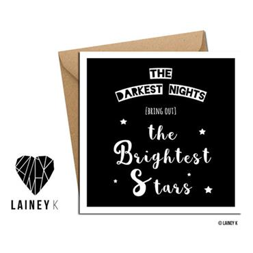 Lainey K - Brightest Stars Greeting Card