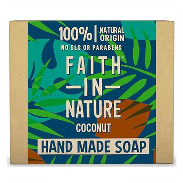 Faith in Nature Handmade Soap Coconut