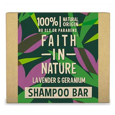Faith in Nature Shampoo Bar Lavender & Geranium