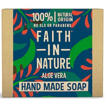 Faith in Nature Handmade Soap Aloe Vera