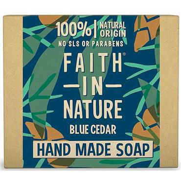 Faith in Nature Handmade Soap Blue Cedar