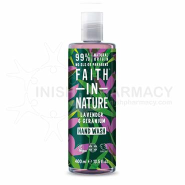 Faith in Nature Lavender & Geranium Hand Wash 400ml