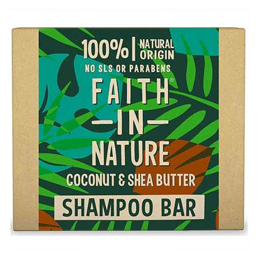 Faith in Nature Shampoo Bar Coconut & Shea Butter