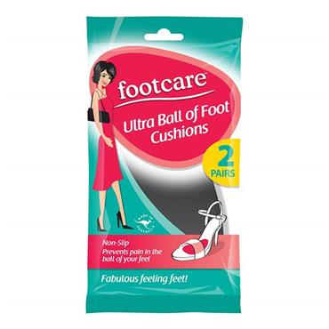 Footcare Ultra Ball Of Foot Cushions 2 Pair