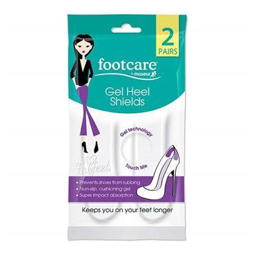Footcare Gel Heel Shields 2 Pairs