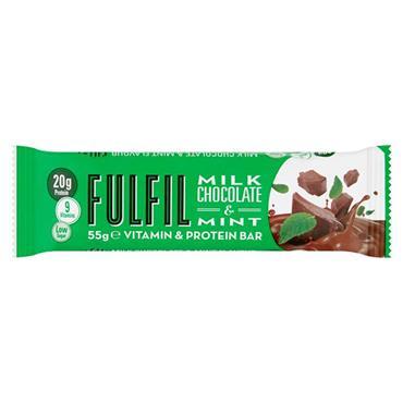 Fulfil Vitamin & Protein Bar Milk Chocolate & Mint