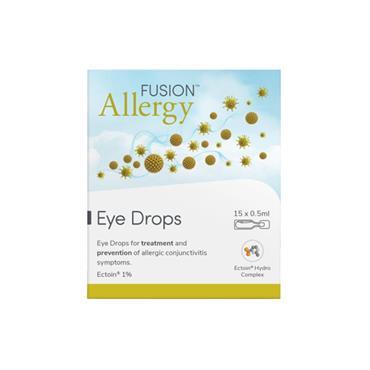 Fusion Allergy Eye Drops 15x0.5ml