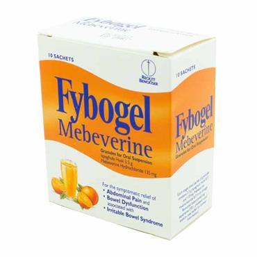 Fybogel Mebeverine 10 Sachets
