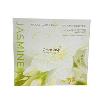 Green Angel Jasmine Precious Hands & Scented Surrounding Giftset