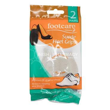 Footcare Suede Heel Grips