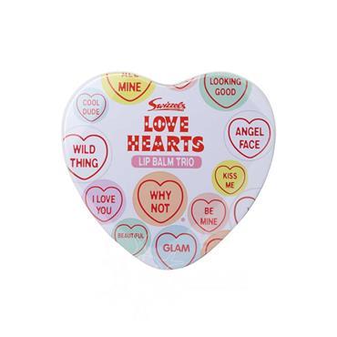 Love Hearts Lip Balm 3 Piece Giftset