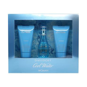 Davidoff Cool Water Ladies 3 Piece Giftset