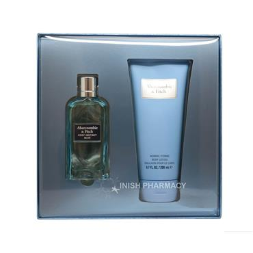 Abercrombie & Fitch Ladies First Instinct Blue 2 Piece Giftset