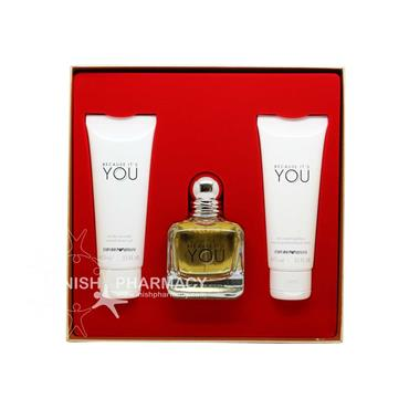 Armani Because It's You Ladies 3 Piece Giftset