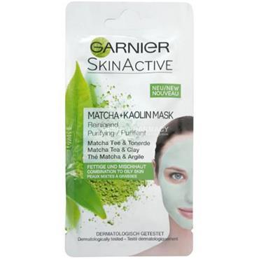 Garnier SkinActive Matcha + Kaolin Mask Sachet 8ml