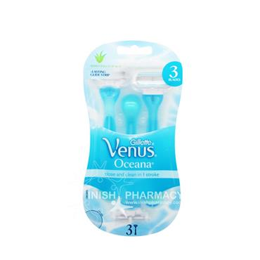 Gillette Venus Oceana Disposable Razors 3 Pack