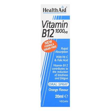 Health Aid Vitamin B12 1000UG Oral Spray 20ml
