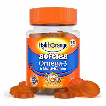 Seven Seas HaliBorange Softies Omega 3 & Multivitamins 30 Pack
