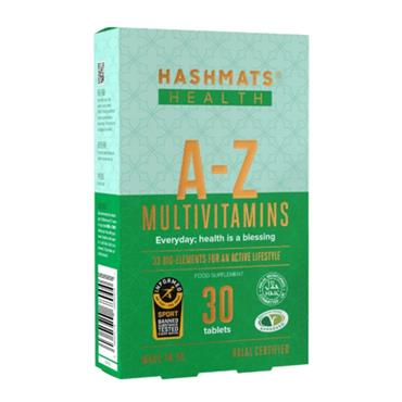 Hashmats Health A-Z Multivitamins 30 Tablets