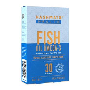 Hashmats Healthy Fish Oil Omega-3 30 Softgels