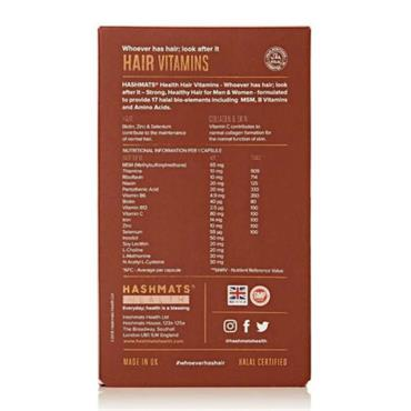 Hashmats Healthy Hair Vitamins 30 Capsules