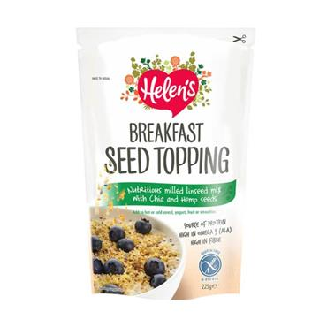 Helens Gluten Free Breakfast Seed Topping With Chia & Hemp Seed 225g