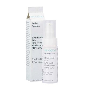 Moogoo Hyaluronic Acid 2% & Niacinamide 10% Active Serum 25ml