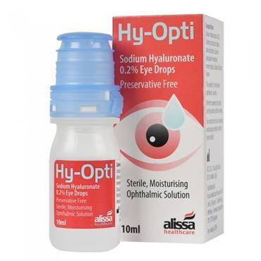 Hy-Opti Sodium Hyaluronate 0.2% Eye Drops 10ml
