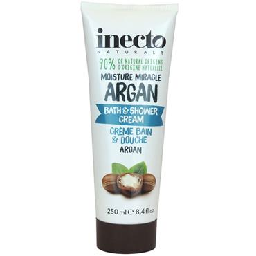 Inecto Moisture Miracle Argan Bath & Shower Cream 250ml