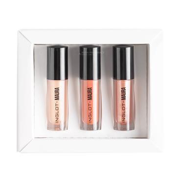 Inglot X Maura Sheen & Lustre Lipgloss Set