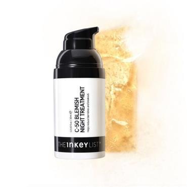 The Inkey List - C-50 Blemish Night Treatment 30ml