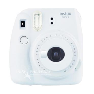 Fujifilm Instax Mini 9 Instant Camera Smoky White