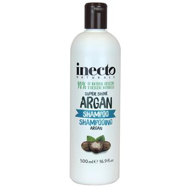 Inecto Naturals Super Shine Argan Shampoo 500ml