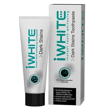 iWhite Dark Stains Teeth Whitening Toothpaste 75ml