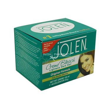 Jolen Creme Bleach Lightens Dark Hair Original Formula 125ml