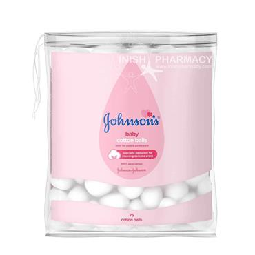 Johnsons Baby Cotton Balls 75 Pack